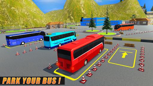 Modern Bus Parking Simulator - City Bus Games 2021 screenshot 5