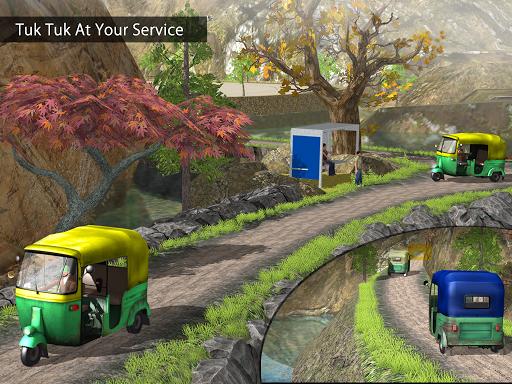 Tuk Tuk Auto Rickshaw Offroad Driving Games 2020 screenshot 21
