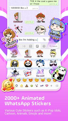 이모티콘 키보드 Facemoji - 이모티콘, 키보드 screenshot 8