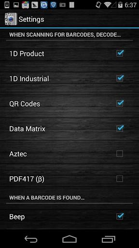 Barcode Scanner Pro screenshot 4