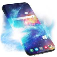 Stars Galaxy Live Wallpaper & Animated Keyboard on 9Apps
