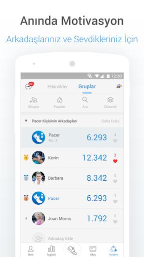 Pedometre - Adım Sayıcı, Kalori ve Kilo Takipçisi screenshot 6