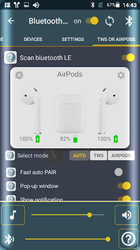 Bluetooth Audio Widget Battery FREE скриншот 7