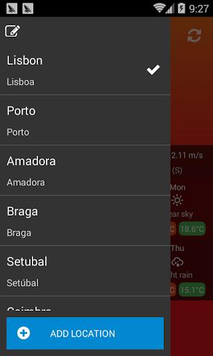 Weather Portugal screenshot 3