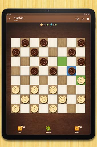 Checkers - strategy board game screenshot 13