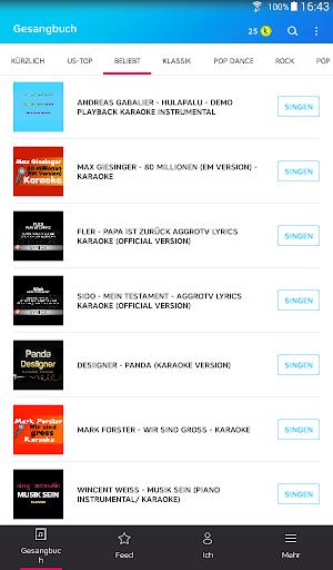 Karaoke – unbegrenzt Karaoke songs singen screenshot 7