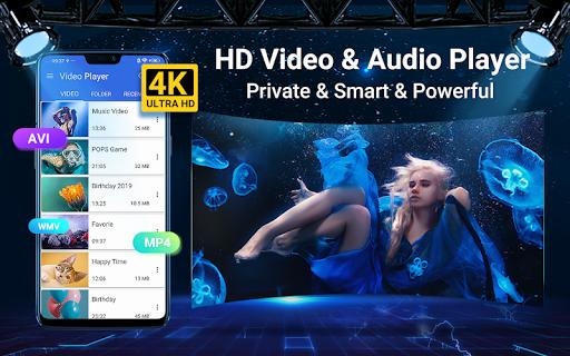 Video speler screenshot 1