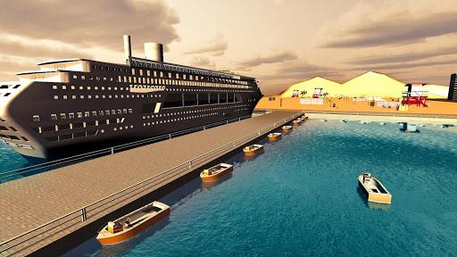Transport Cruise Ship Game Passenger Bus Simulator स्क्रीनशॉट 7