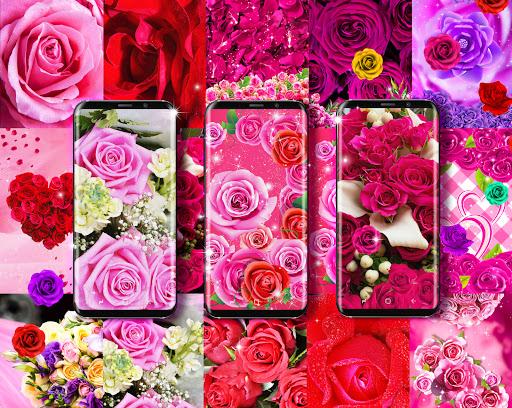 Best rose live wallpaper 2021 screenshot 1
