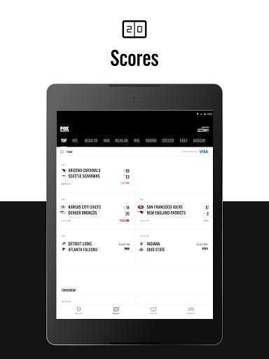 FOX Sports: Latest Stories, Scores & Events screenshot 11