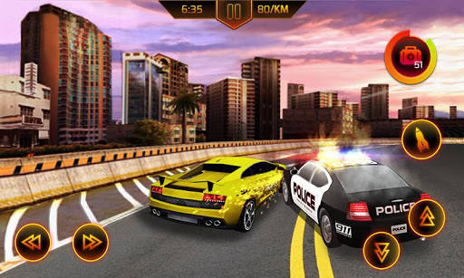 Police Car Chase screenshot 1