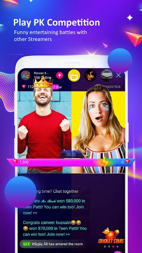 StreamKar - Live Streaming, Live Chat, Live Video स्क्रीनशॉट 6