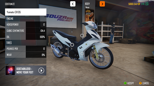 SouzaSim Project screenshot 1