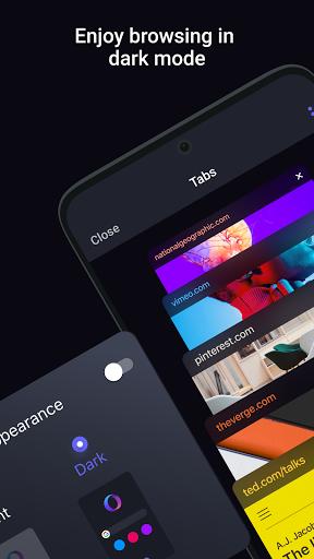 Opera Touch: fast, new & modern web browser screenshot 5