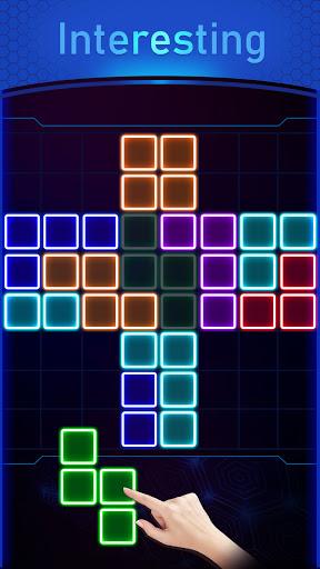 Glow Block Puzzle screenshot 4