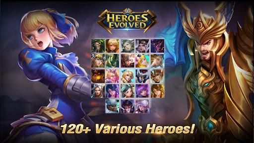 Heroes Evolved 3 تصوير الشاشة