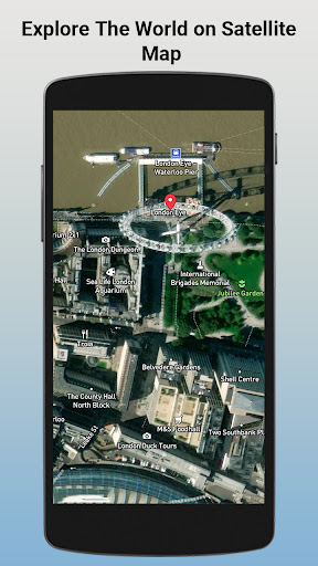 GPS Satellite - Live Earth Maps & Voice Navigation screenshot 1