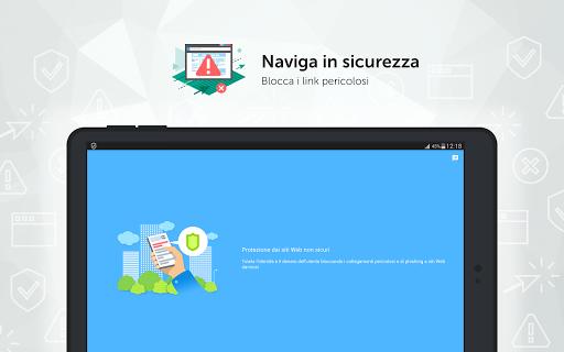 Kaspersky Mobile Antivirus: AppLock Sicurezza Web screenshot 17