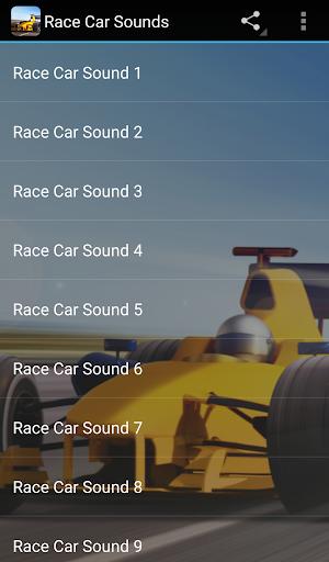 🏎 Race Car Sounds screenshot 1