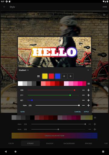 Phonto - Testo su Foto screenshot 12