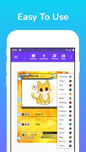 Card Maker for PKM screenshot 1