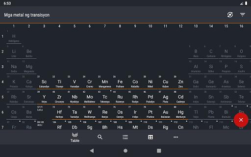 Periodic Table 2021 - Kimika screenshot 12