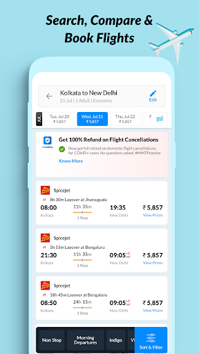 MakeMyTrip Travel Booking: Flights, Hotels, Trains screenshot 3