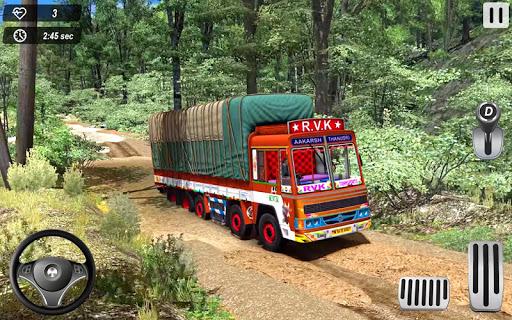 Indian Truck Offroad Cargo Drive Simulator 2 screenshot 1