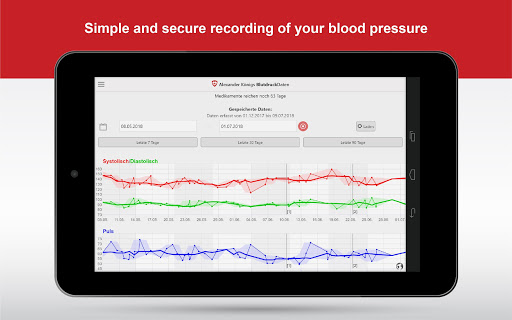 BloodPressureDB screenshot 5