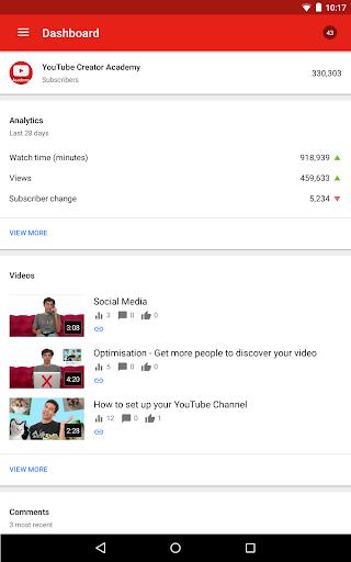 YouTube Studio screenshot 10