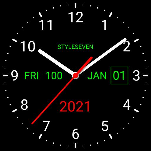 Analog Clock Live Wallpaper-7 icon