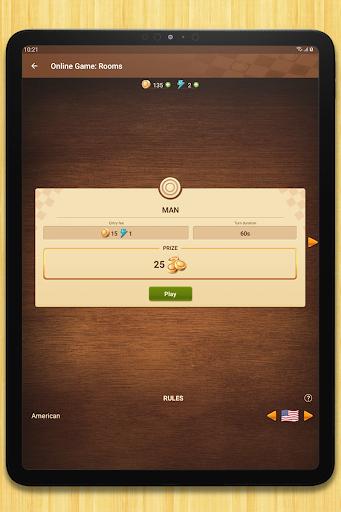 Checkers - strategy board game screenshot 14