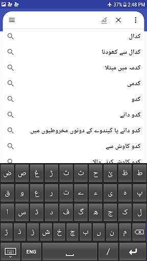 English to Urdu Dictionary screenshot 3