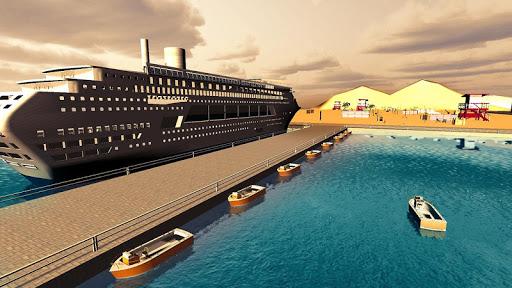 Transport Cruise Ship Game Passenger Bus Simulator स्क्रीनशॉट 3