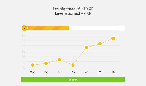 Leer Engels met Duolingo screenshot 15