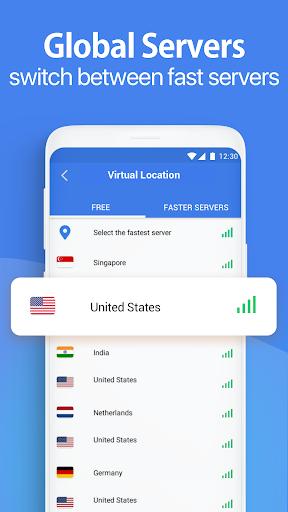 Snap VPN - Fast VPN Proxy screenshot 2