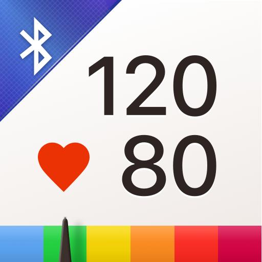 혈압 다이어리 - 고혈압 관리, 혈압 수첩 icon