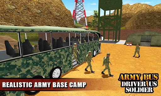 Army Bus Driver 2021:Real Military Coach Simulator screenshot 7