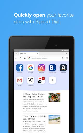 Opera browser beta screenshot 11