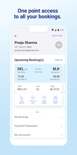 IndiGo-Flight Ticket Booking App 7 تصوير الشاشة