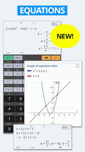 HiPER Scientific Calculator скриншот 2