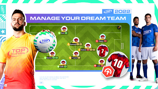 Top Eleven Be a Soccer Manager screenshot 2