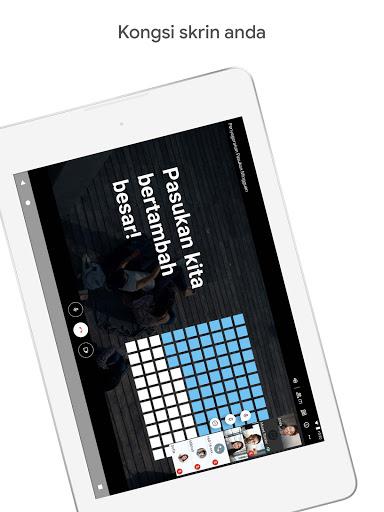 Google Meet screenshot 12