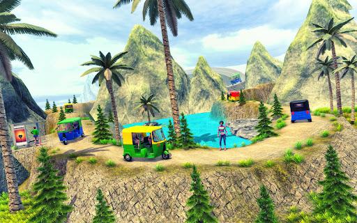 Tuk Tuk Auto Rickshaw Driving Simulator Games screenshot 8