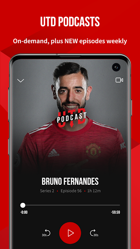 Manchester United Official App स्क्रीनशॉट 2