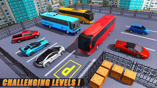 Modern Bus Parking Simulator - City Bus Games 2021 screenshot 4