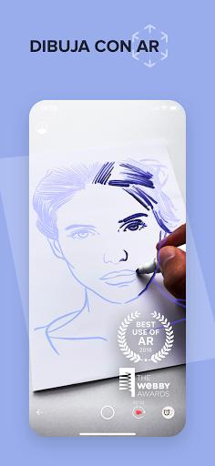 SketchAR Crear Arte De Pintura Dibujar screenshot 1