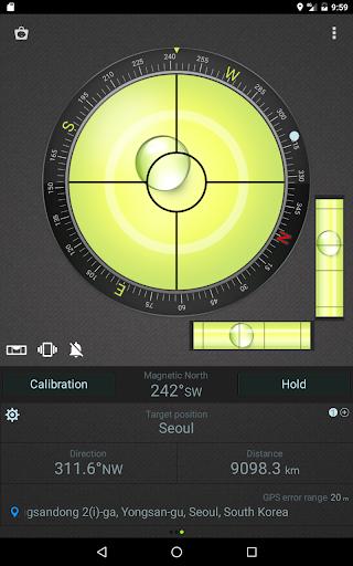 Compass Level & GPS स्क्रीनशॉट 12