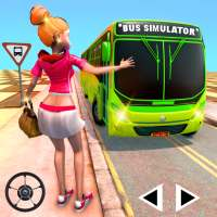 City Bus Driving Simulator: City Coach Bus Games on 9Apps