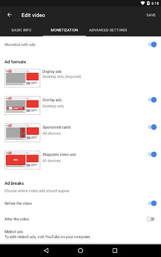 YouTube Studio screenshot 13